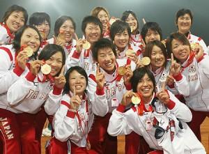 日本女子ソフトボール 金メダル・北京オリンピック.jpg