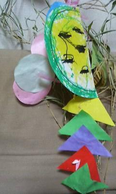 2歳Jr. の飾り スイカ.jpg
